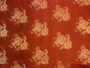 Polyester-Jacquard Rose