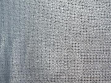 Polyester-Jacquard hellblau
