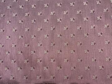 Polyester-Jacquard rosé mit Rosen